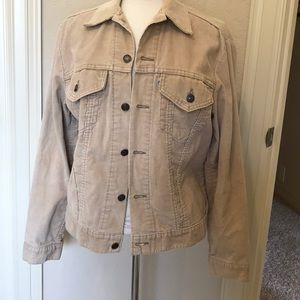 Tan Levi's corduroy jacket